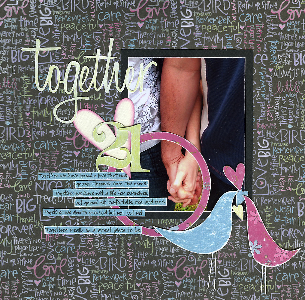 EW August 08 Mini Kit ~Together